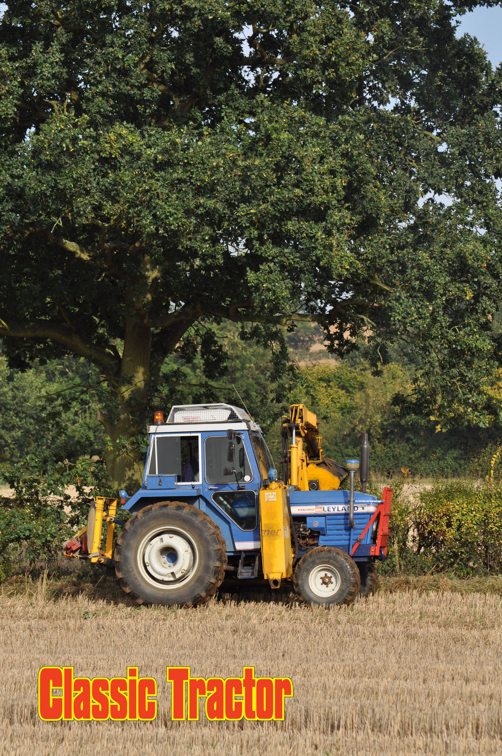 Leyland 272 Synchro Turner trimmer combination