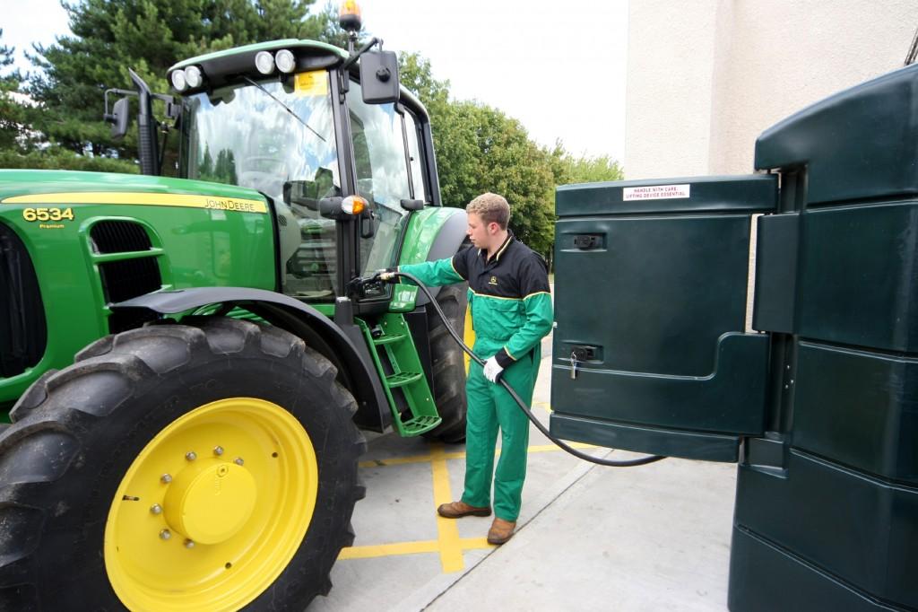 traditionally most farm fuel tanks