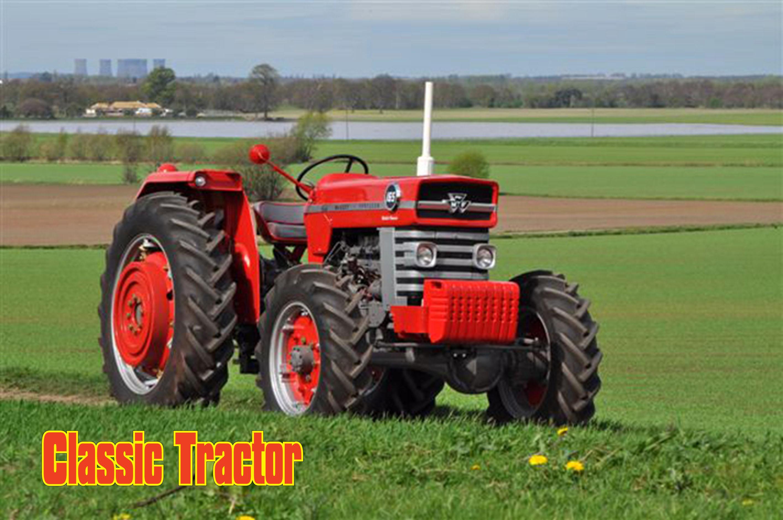 Massey Ferguson 165 4WD restored
