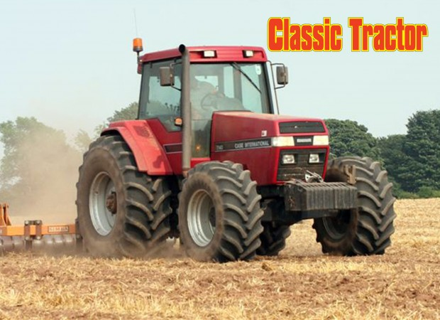 Case-IH 7140 Magnum with sub soiler