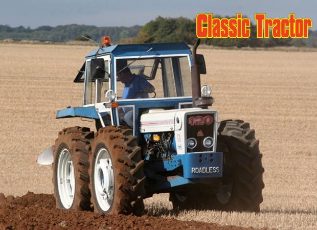Roadless 120 ploughing