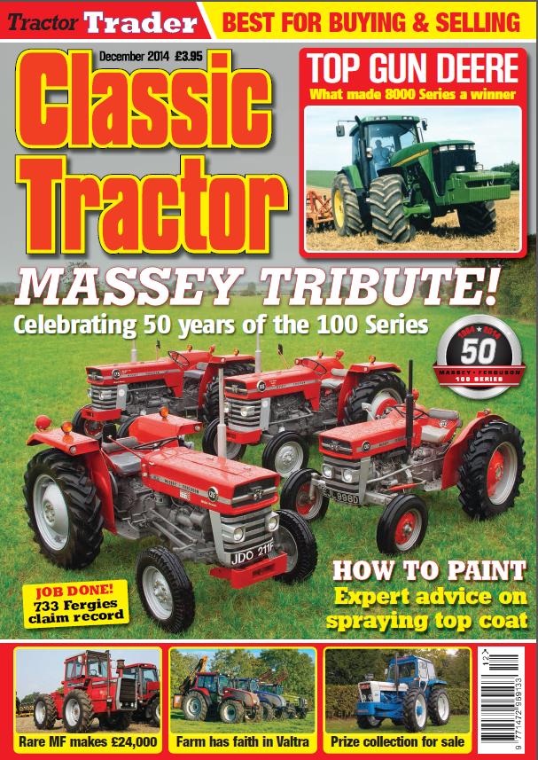 Vintage Tractor Magazine 45